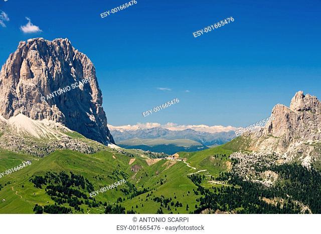 Sella pass, Italian Dolomites