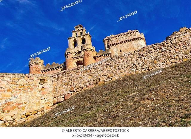 Castle of Turégano, Church of San Miguel, Turégano, Segovia, Castilla y León, Spain, Europe