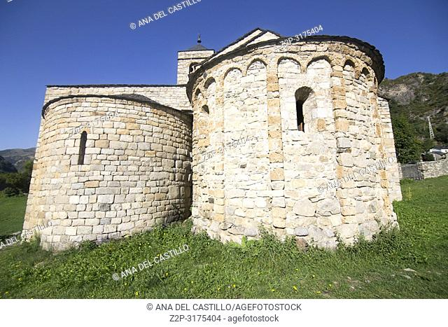 San Felix de Barruera church Boi valley Catalonia Spain