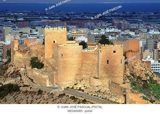 Alcazaba, Almería. Andalusia, Spain