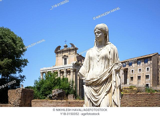 House of the Vestal Virgins, Rome, Italy