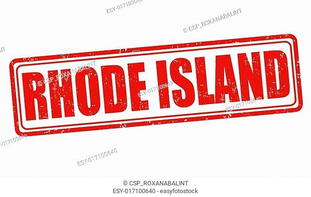 Rhode Island stamp