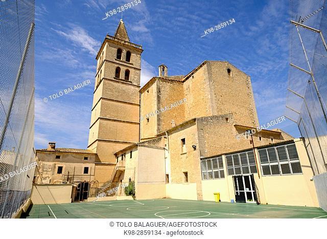 iglesia parroquial de Porreres , Virgen de la ConsolaciónPorreres, Mallorca, balearic islands, spain, europe