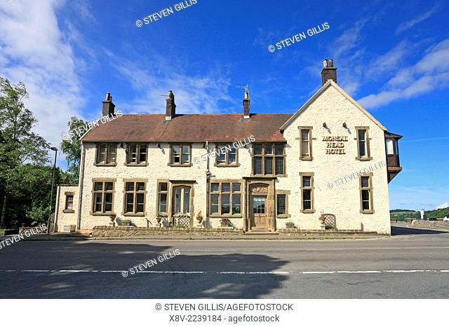 Monsal Head Hotel, Derbyshire, Peak District National Park, England, UK