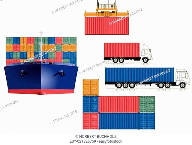 Container Transport Logistik