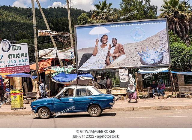 Street scene, Addis Ababa, Oromia Region, Ethiopia