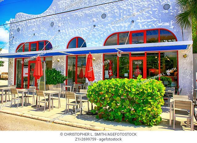Lolita Tartine Restaurant on 5th Street in Sarasota, FL