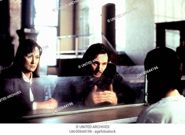 DAVOR UND DANACH - NICHTS IST WIE ES WAR / Before and After USA 1995 / Barbet Schroeder Szene mit MERYL STREEP (Carolyn) und LIAM NEESON (Ben Ryan) Regie:...