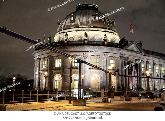 Bode museum Berlin Christmas time Germany