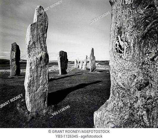 Standing Stones of Callanish, Isle of Lewis, Scotland