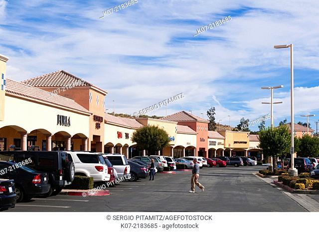 Desert Hills Outlet, Palm Springs, California, USA