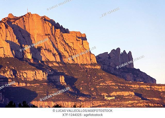 Montserrat mountain  Natural Park  Bages, Barcelona province,Catalonia Spain