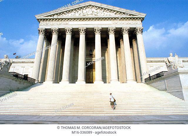 Supreme Court Building. Washington D.C. USA