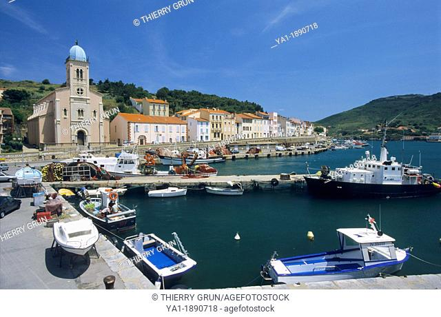 Port Vendres, Eastern Pyrenees, Languedoc-Roussillon, France