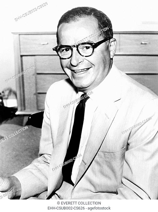 Parke Levy, a writer and humorist for radio and television comedies. Dec. 1960. He created the TV sit-com DECEMBER BRIDE, aired from 1954 to 1959