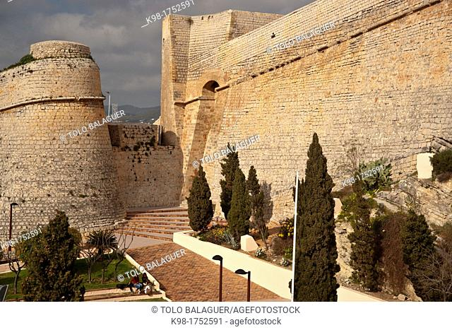 Portal Nou stronghold, Spain Ibiza Balearic islands
