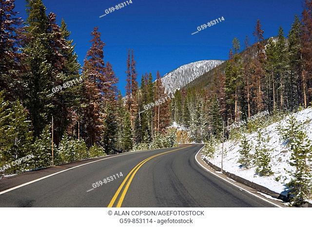 USA, Colorado, Rocky Mountain National Park