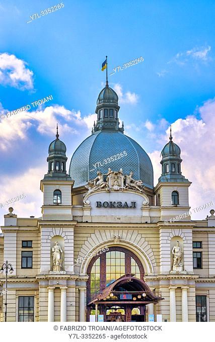 Lviv-Holovnyi railway station, Lviv, Ukraine