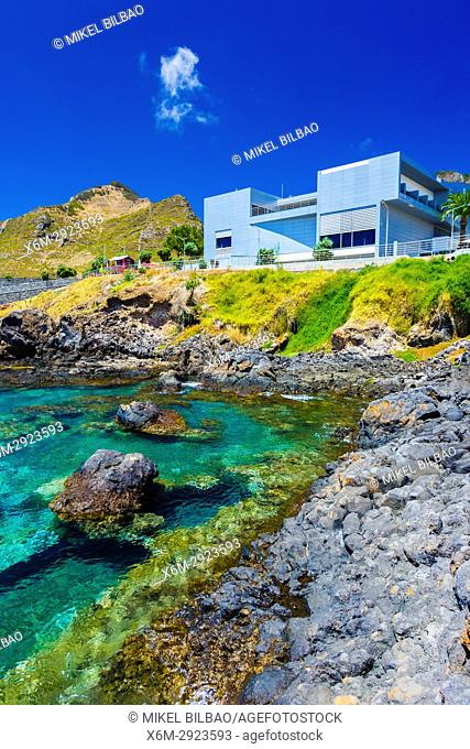 Whale museum. Caniçal. Madeira, Portugal, Europe