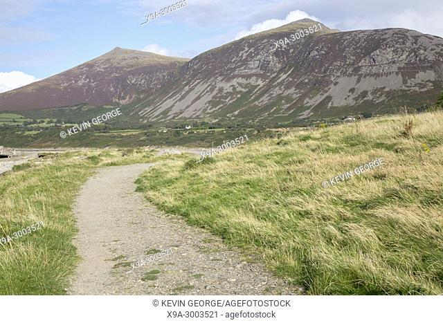 Landscape at Trefor; Caernarfon; Wales; UK