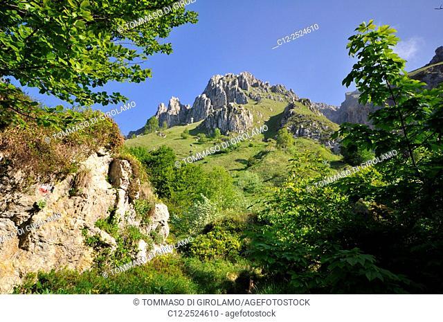Italy, Lombardy, Grignetta mount