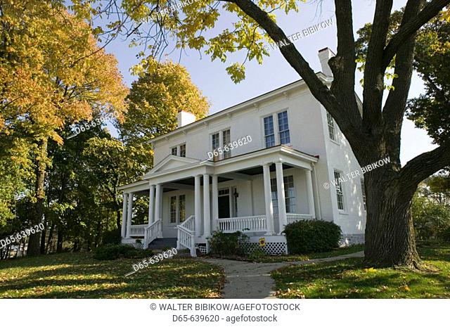 Harriet Beecher Stowe House. Home of the abolitionist author of Uncle Tom's Cabin. Cincinnati. Ohio. USA