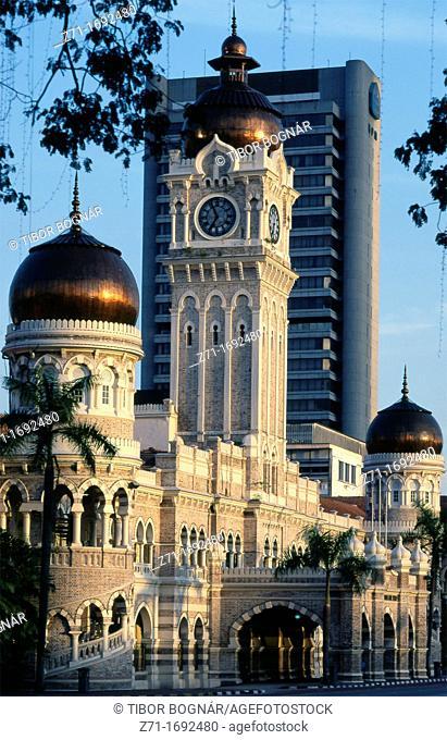 Malaysia Kuala Lumpur Sultan Abdul Samad Building