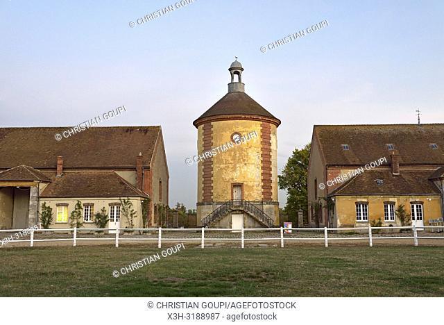 Bergerie nationale de Rambouillet, Parc du Chateau de Rambouillet, departement des Yvelines, region Ile-de-France, France