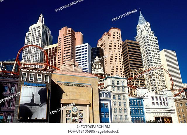 Las Vegas, casino, hotel, NV, Nevada, The Strip, New York-New York Hotel & Casino in Las Vegas, the Entertainment Capital of the World