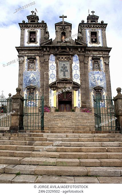 Saint Ildefonso church, Oporto, Portugal