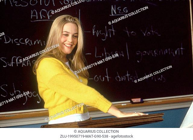 RELEASE DATE: July 19, 1995. MOVIE TITLE: Clueless. STUDIO: Paramount Pictures. PLOT: Cher Horowitz and her friend Dionne