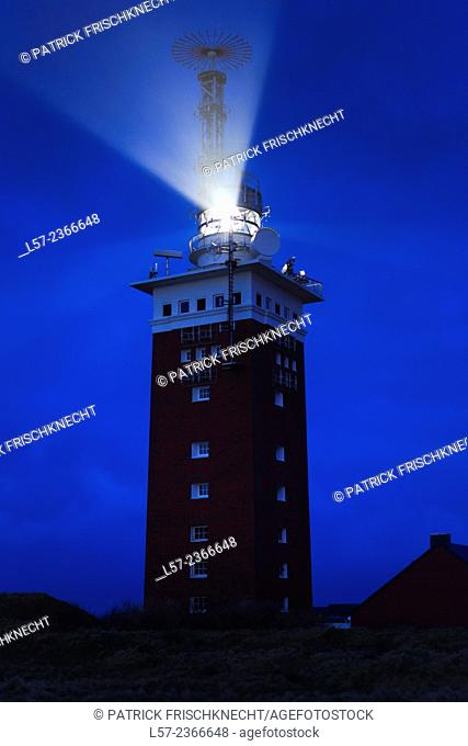 Lighthouse on Helgoland, Germany