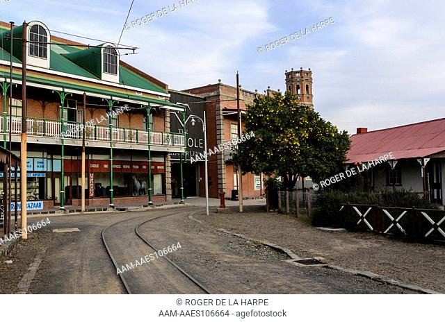The Old Town at the Big Hole Mine Museum. Kimberley. Northern Cape. South Africa