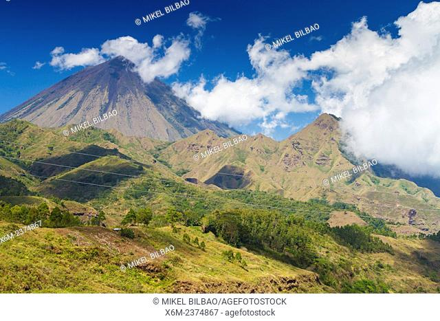 Inerie volcano. Flores island. Indonesia, Asia