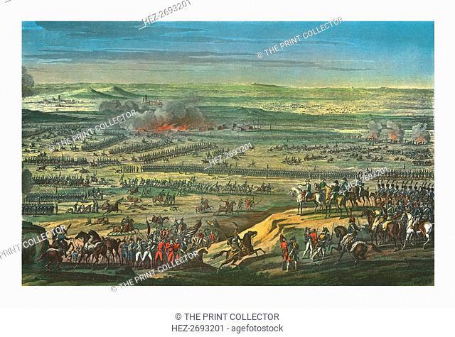 The Battle of Austerlitz, 2 December 1805, (c1850). Artist: Jean Bosq