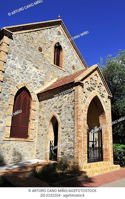 Presbyiterian chapel, Bella Vista English Quarter. Rio Tinto, Huelva province, Spain