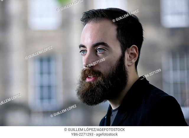 British novelist and journalist Ned Beauman appears at the Edinburgh International Book Festival