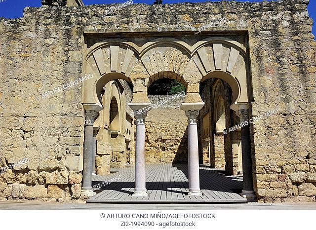 Arabs ruins of Medina Azahara. Córdoba, Spain