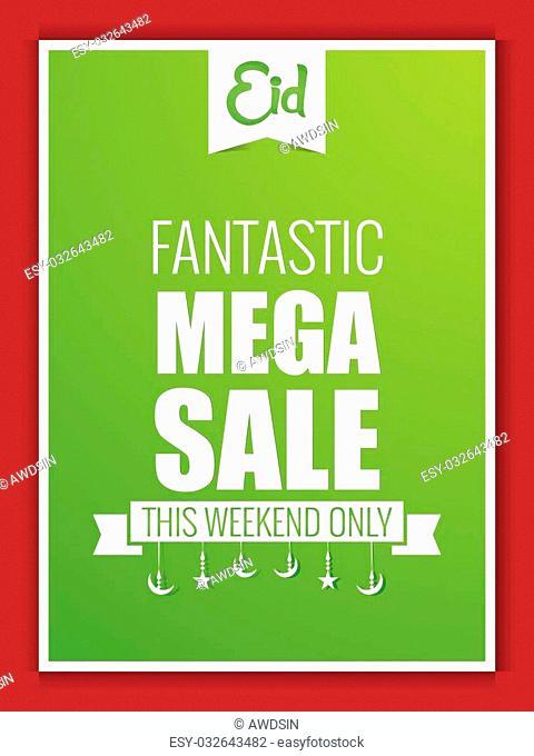 Eid Fantastic Mega Sale Flyer