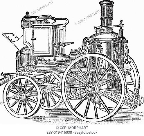 First Steam Engine Invented