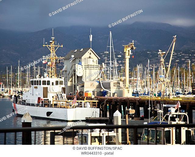 Lots of Boats in Marina