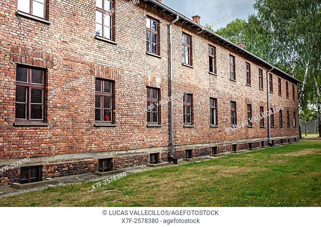 Concentration camp. Auschwitz. Poland