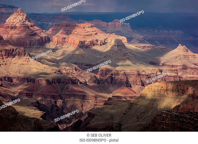 View across the Grand Canyon National Park, Arizona, USA