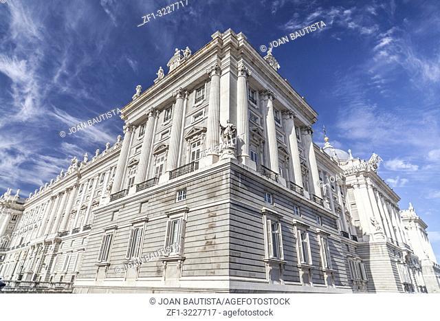 Royal palace, Palacio Real,Madrid