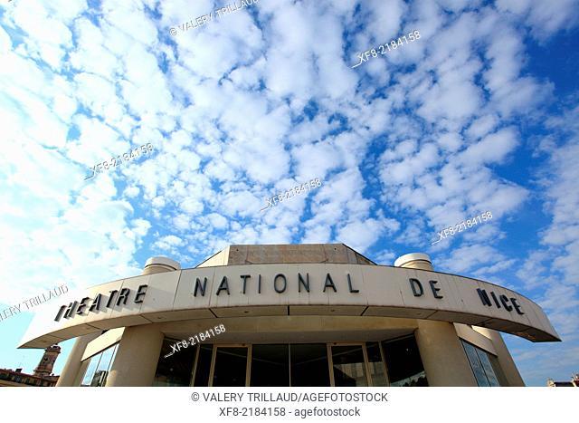 Nice, Theâtre National de Nice, Alpes-Maritimes, French Riviera, Côte d'Azur, Provence-Alpes-Côte d'Azur, France