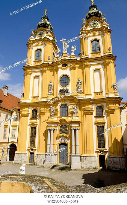 St. Peter and Paul Church in Melk Abbey, Austria