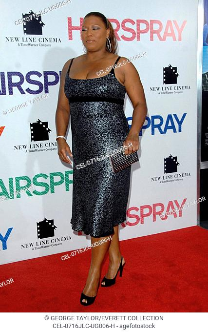 Queen Latifah at arrivals for NY Premiere of HAIRSPRAY, The Ziegfeld Theatre, New York, NY, July 16, 2007. Photo by: George Taylor/Everett Collection