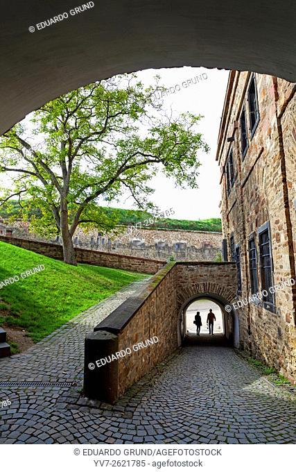 Fortress Ehrenbreitstein in Koblenz. Rhineland-Palatinate, Germany