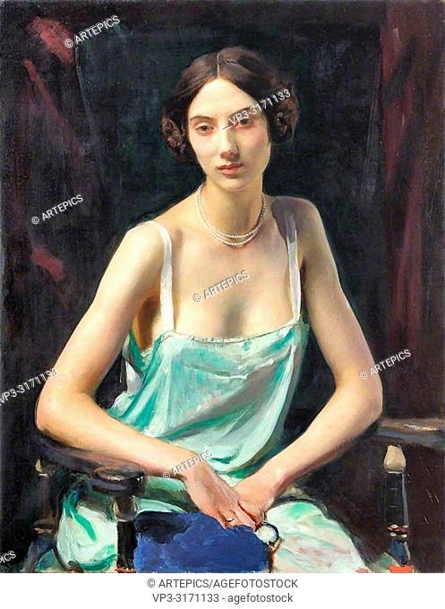 Watson George Spencer - Woman in a Camisole