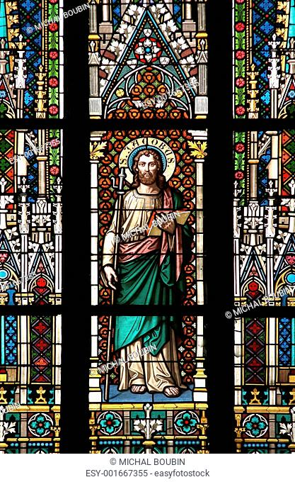stained window - saint